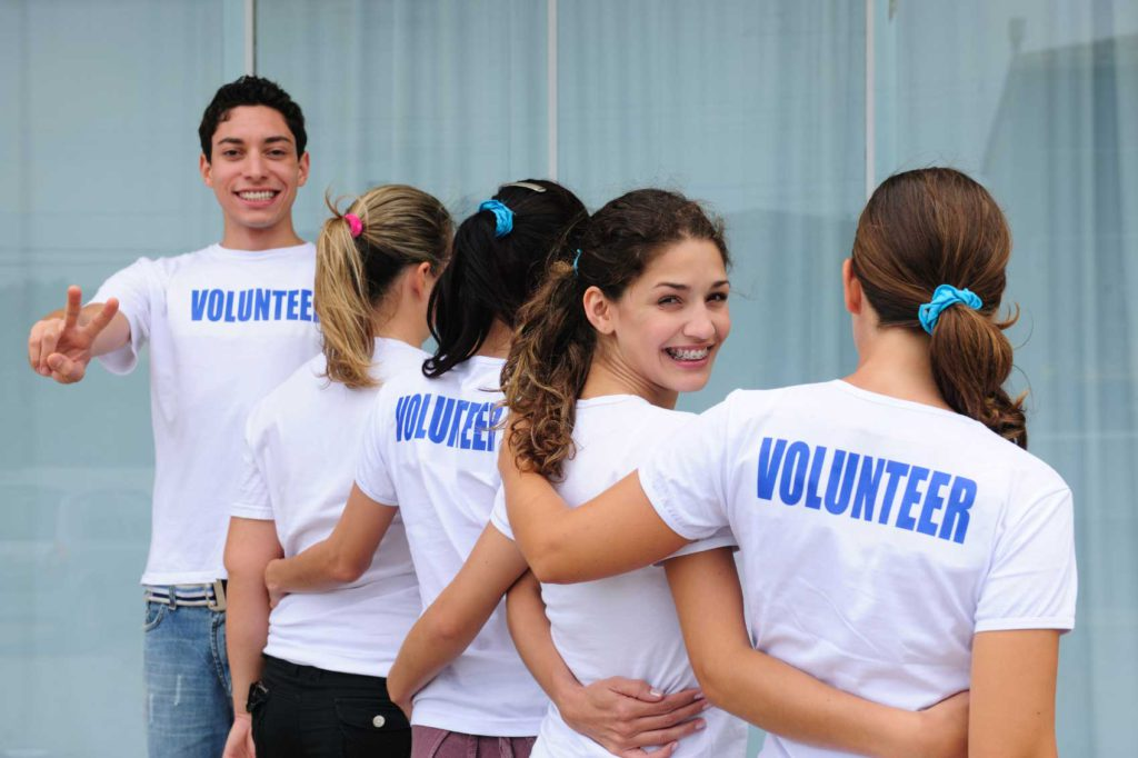 giovani volontari