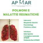 Malattie reumatiche e polmoni. A Bari un incontro formativo con i pazienti