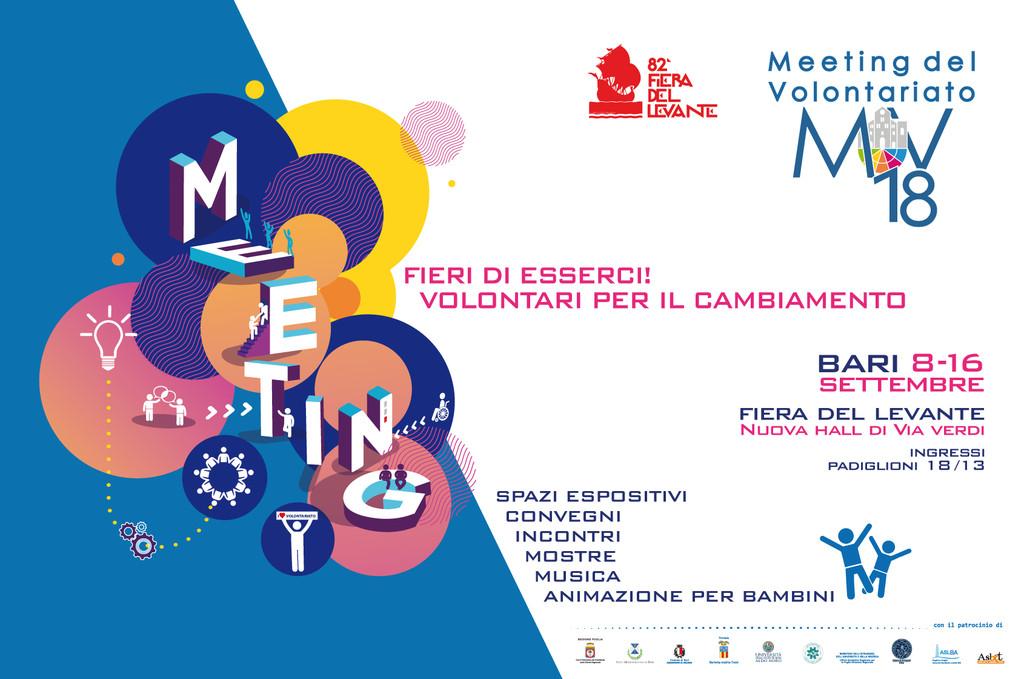 meeting del volontariato 2018