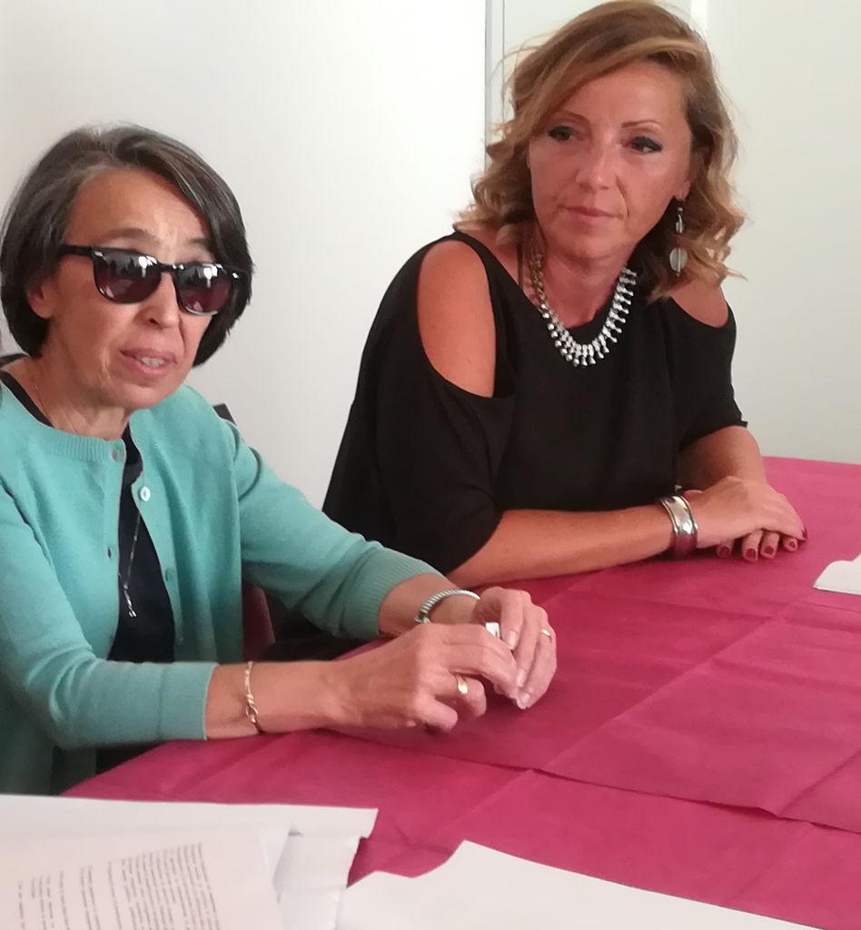 Rosa Franco presidente CSV San Nicola e Francesca Bottalico assessore al Welfare Comune di Bari