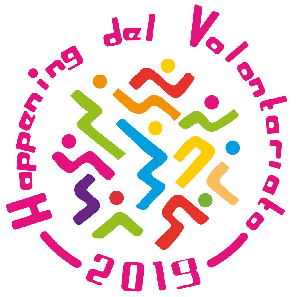 logo Happening del Volontariato 2019