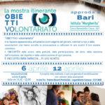 locandina Obiettivo Volontariato CSV San Nicola presso Istituto Margherita dal 06 al 12 aprile