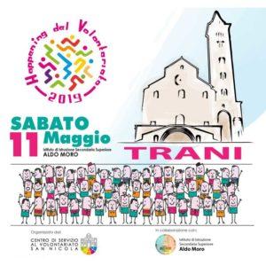 banner Happening del Volontariato 11 maggio 2019 Trani