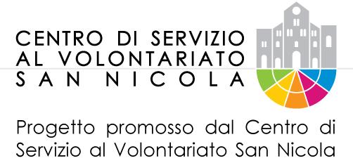 Progetto promosso dal Centro di Servizio al Volontariato San Nicola