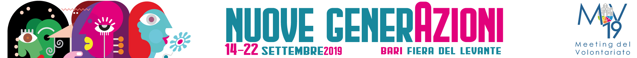 banner Nuove GenerAzioni Meeting del Volontariato 2019