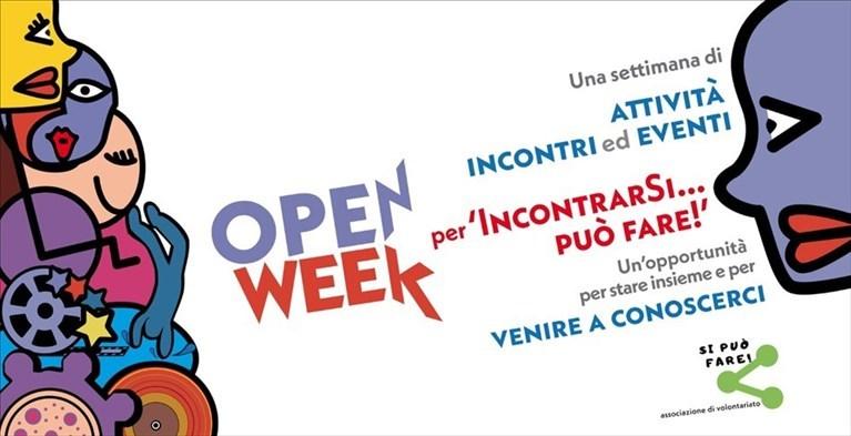 banner Open Week associazione Si può fare Andria