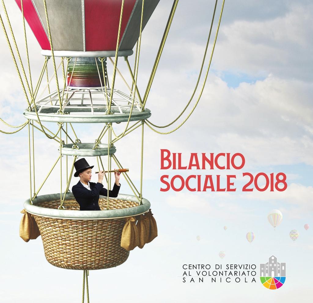 banner Bilancio sociale 2018 - Centro di Servizio al Volontaiato San Nicola 1024x990