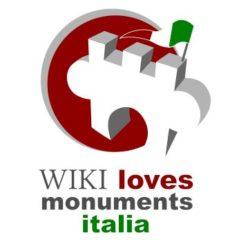 logo wiki loves monuments italia