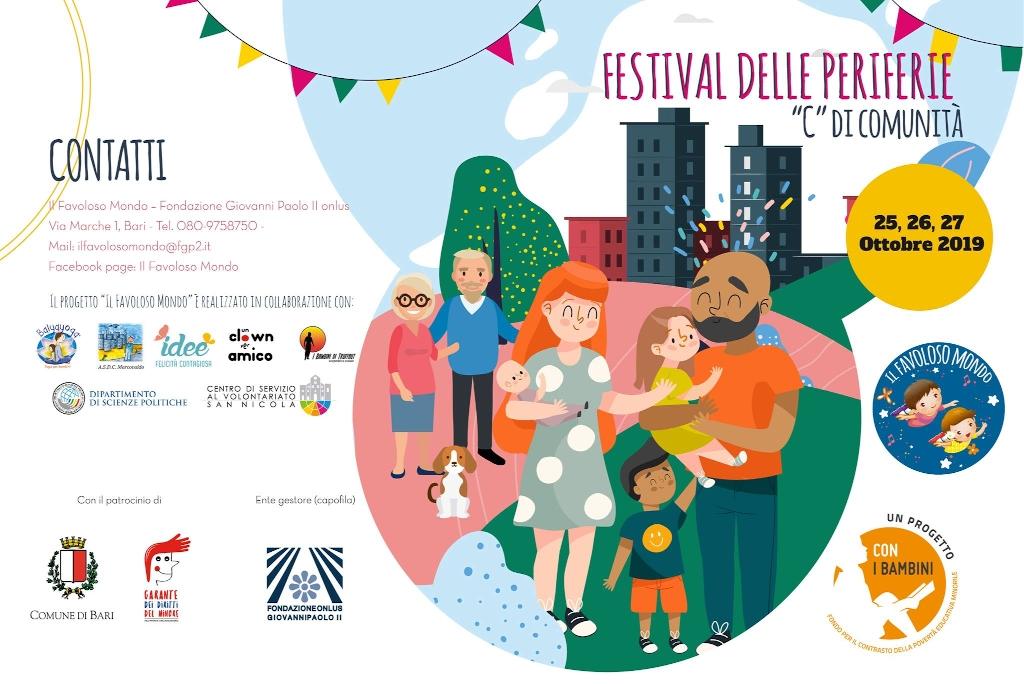 Programma Il Festival delle Periferie - Il Favoloso Mondo - Ottobre 2019-