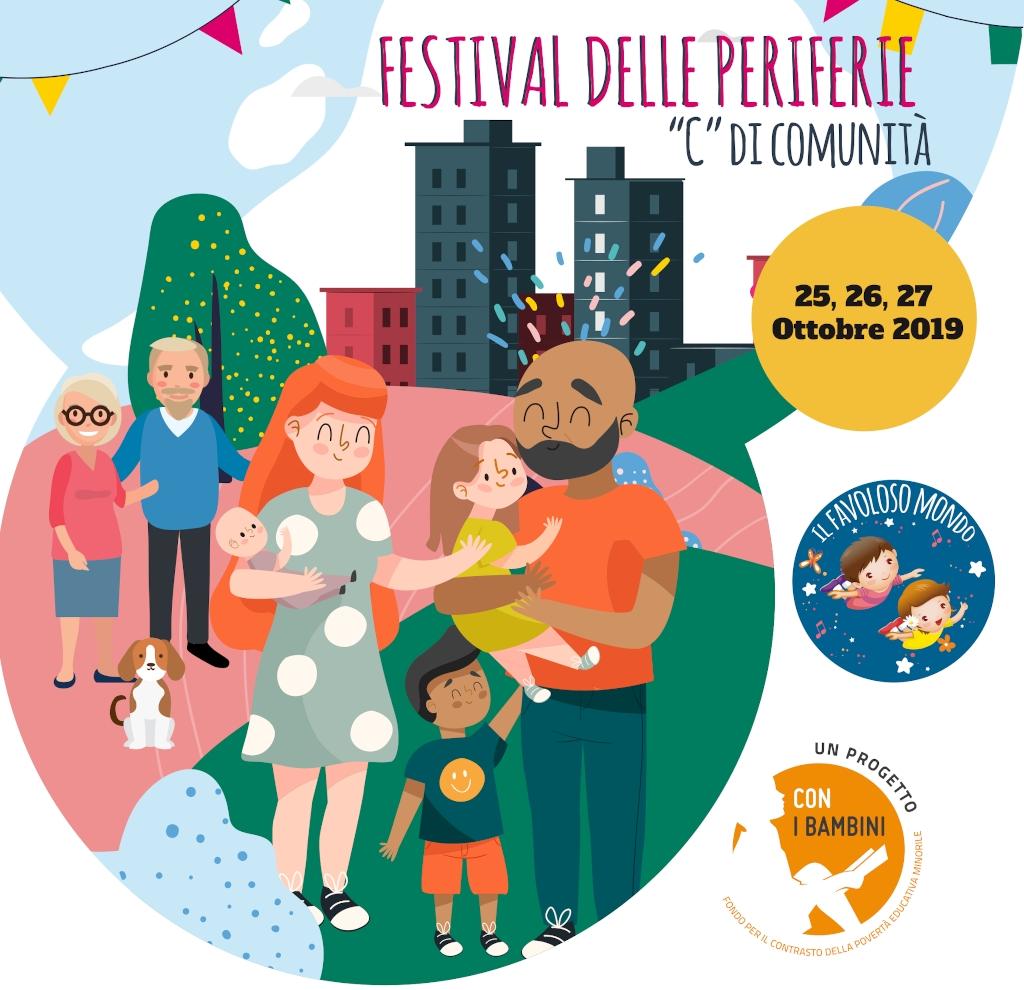 banner Il Festival delle Peroferie - Il Favoloso Mondo - Ottobre 2019b