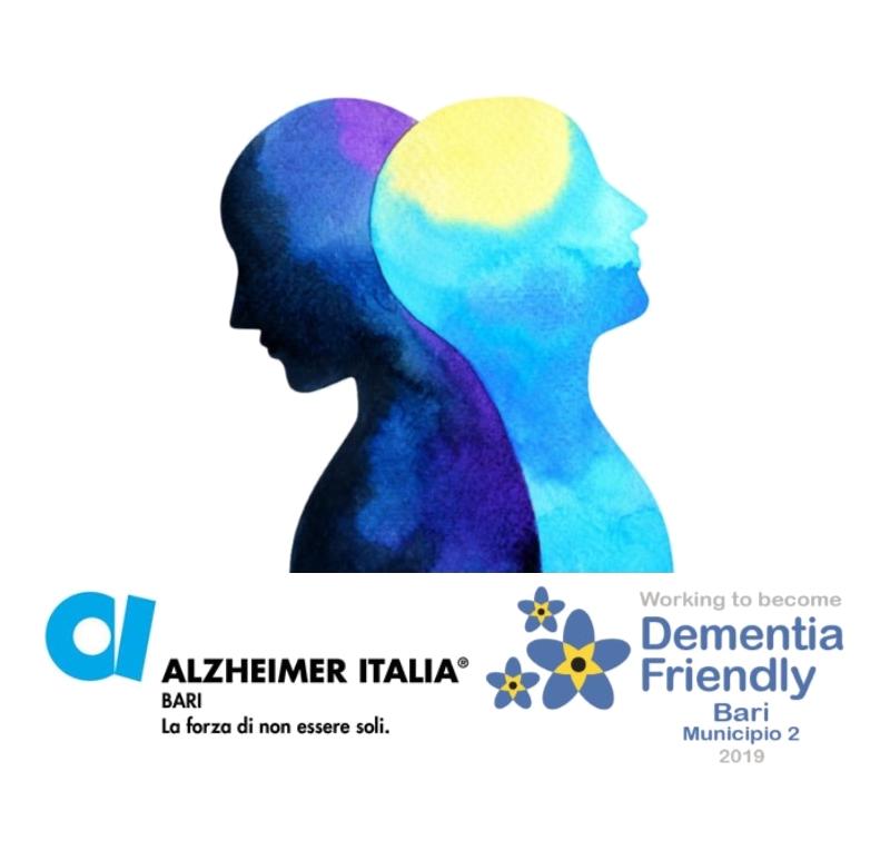 banner Invecchiare bene fisicamente e cognitivamente screening cognitivo 2019 Alzheimer Bari