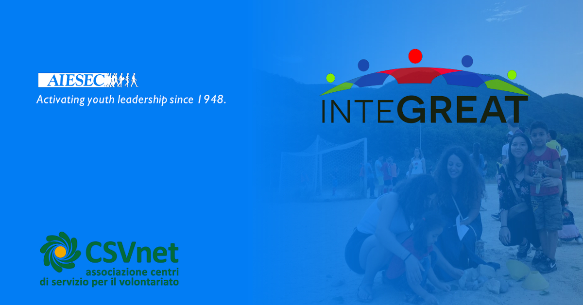 AIESEC & CSVnet - InteGreat 1200