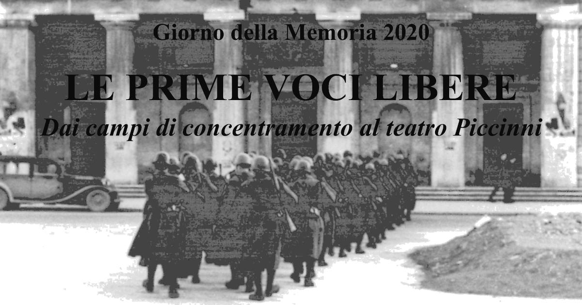 Le prime voci libere - Giorno della Memoria 2020 - Archivio di Stato di Bari