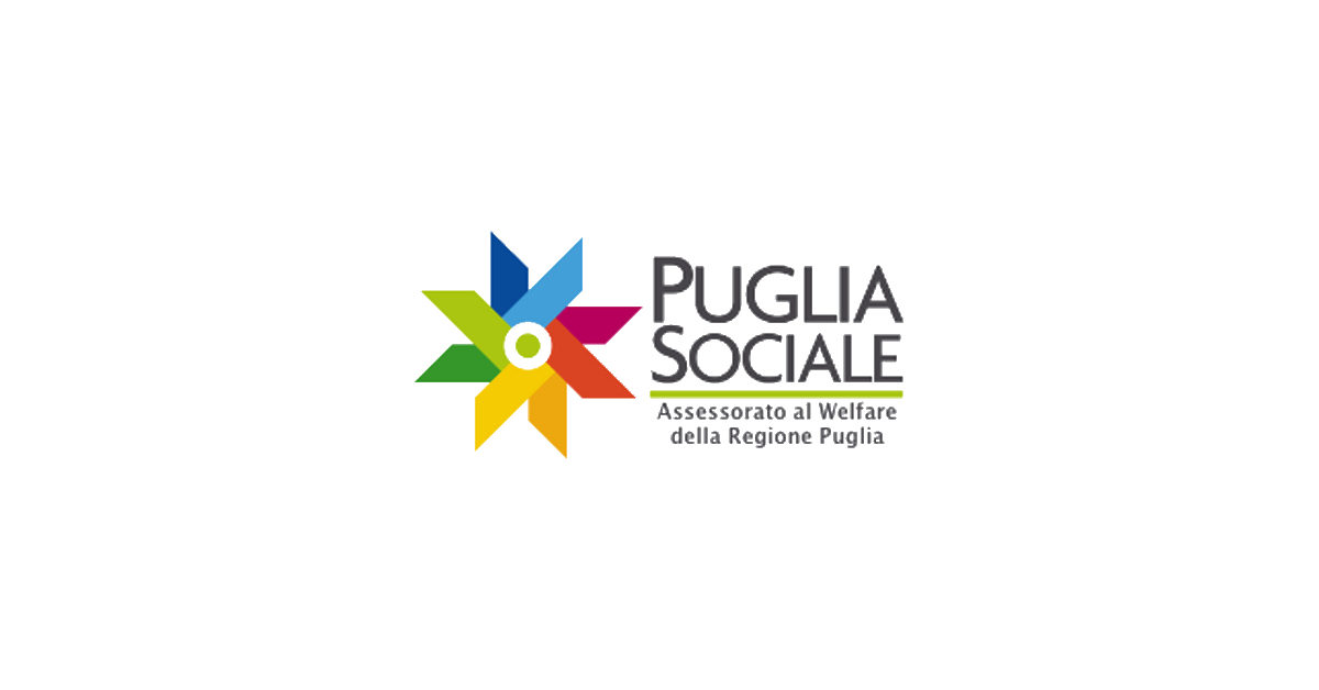 logo Puglia Sociale Assessorato al Welfare Regione Puglia