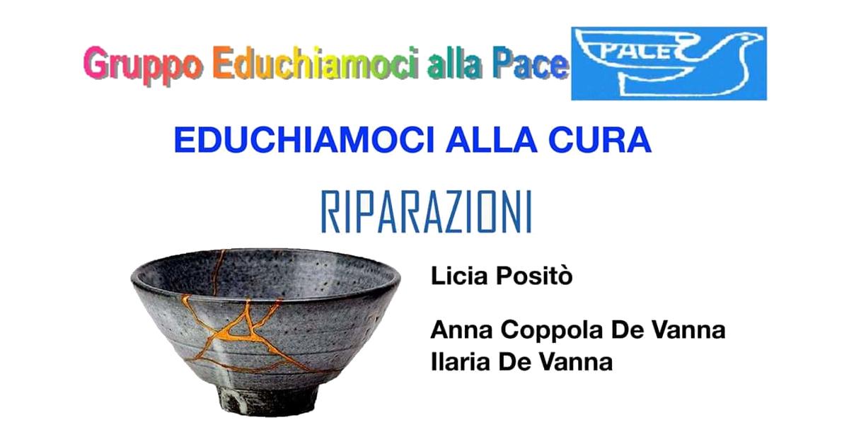presentazione libro Riparazioni - Giustizia riparativa - Associazione GEP gennaio 2020