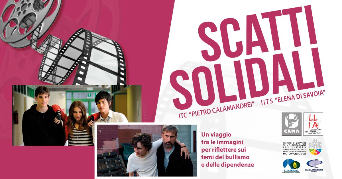 Banner Scatti Solidali - CAMA LILA - #GIOVANIDEE CSVSN