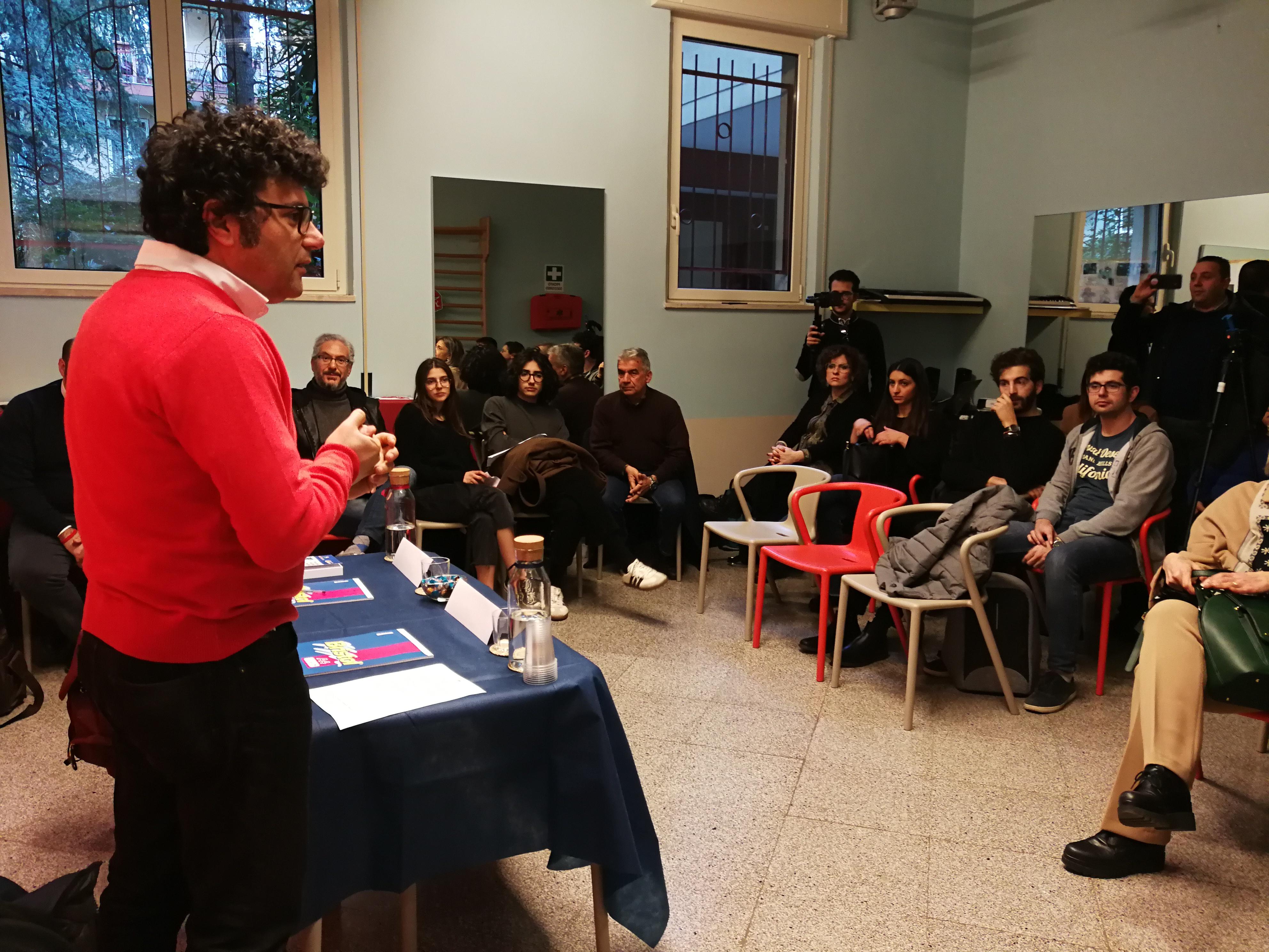 Incontro migranti e caporalato CSVSN Alessandro Cobianchi