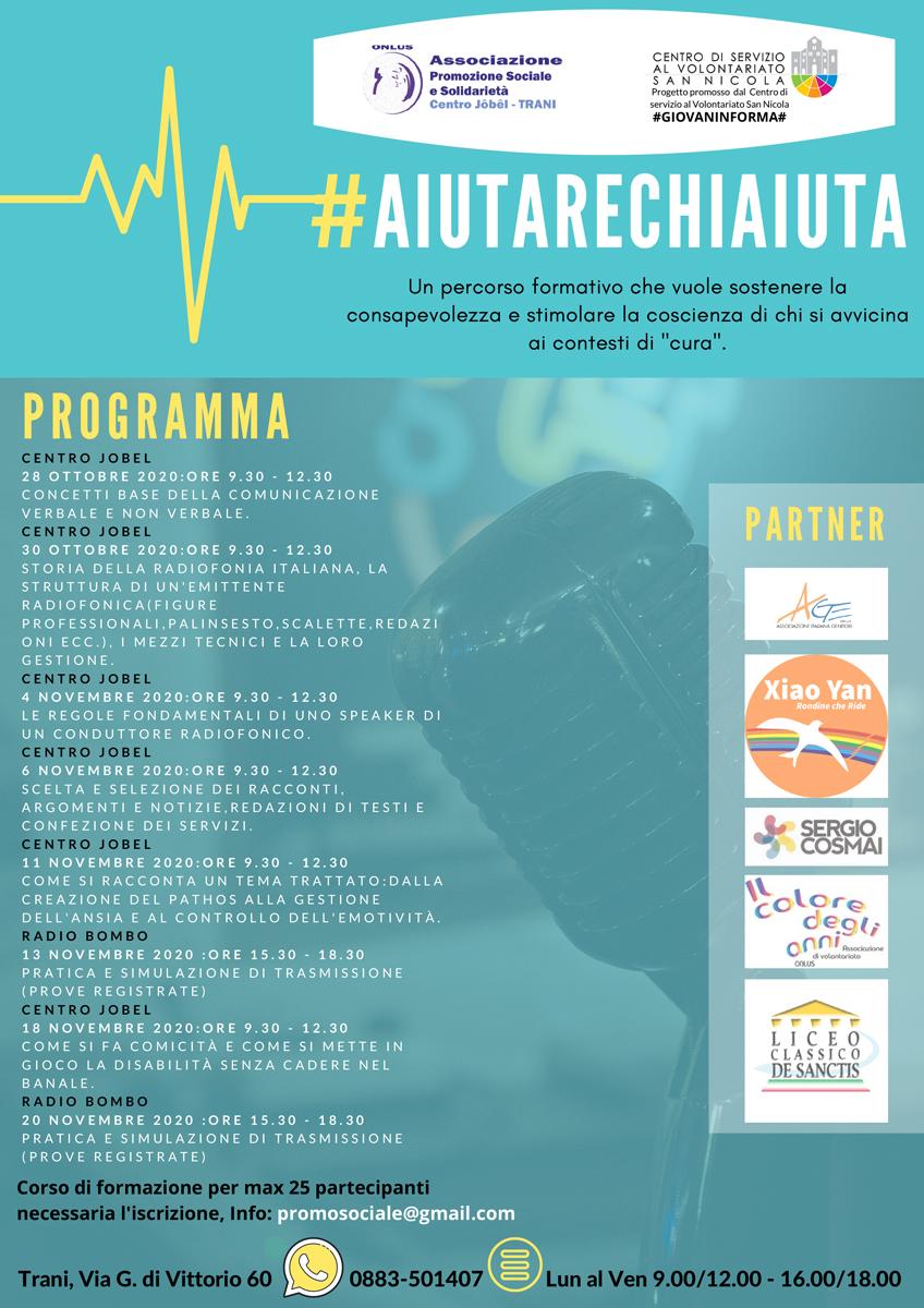 Locandina-Help-#aiutarechiaiuta-associazione-promozione-sociale-solidarieta-trani-#giovaninforma