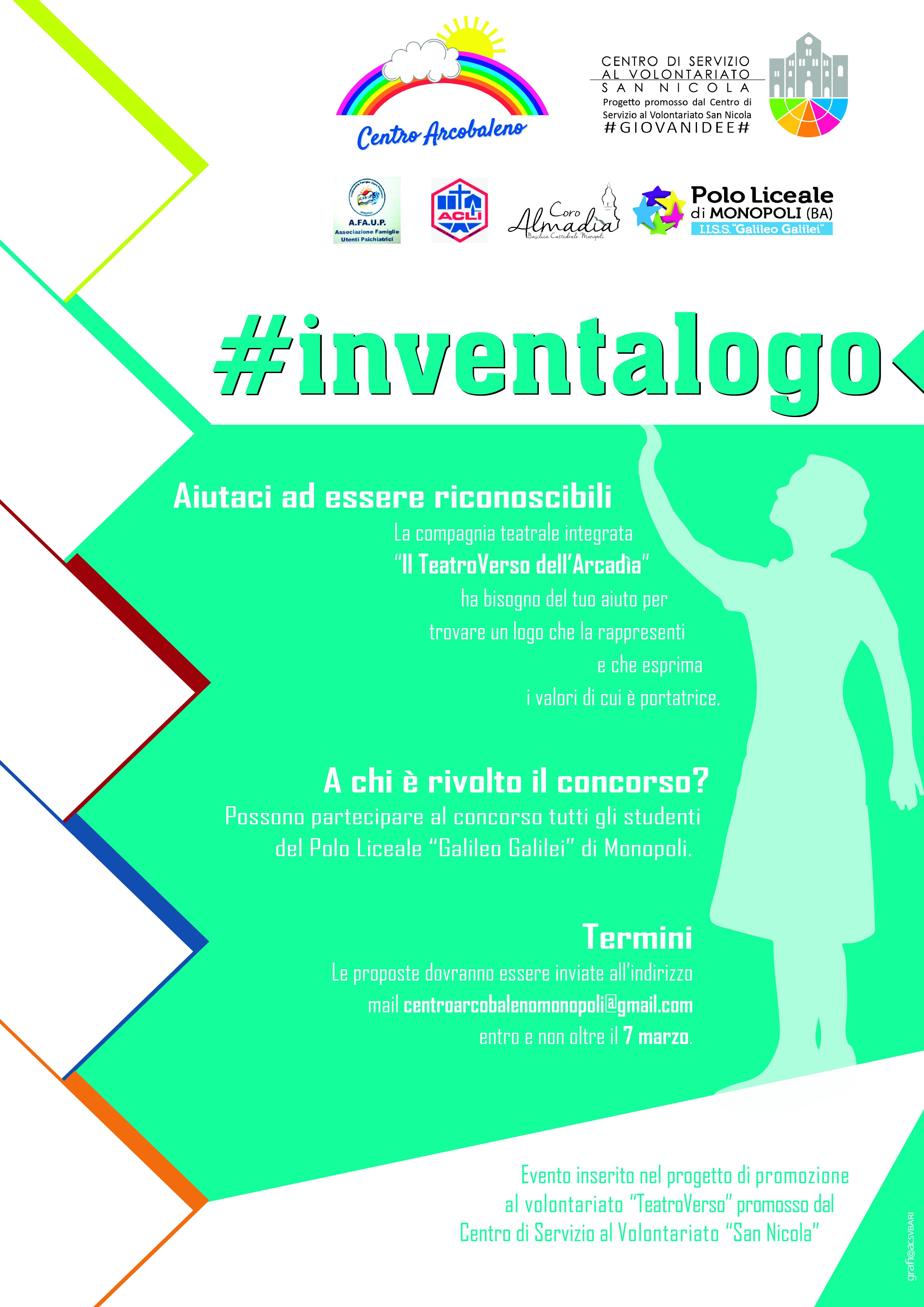 Locandina #INVENTALOGO - TeatroVerso dell'Arcadìa #GIOVANIDEE-