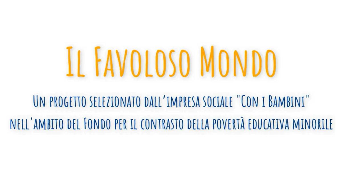 Banner Il Favoloso Mondo in digitale 2020 - CSVSN