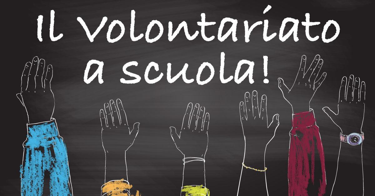 Banner Il Volontariato a Scuola 2020