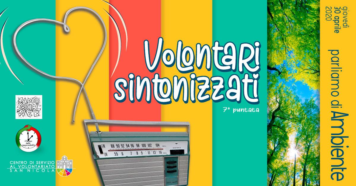 Banner Dialoghi su Ambiente Volontari Sintonizzati CSVSN Radio Social Web