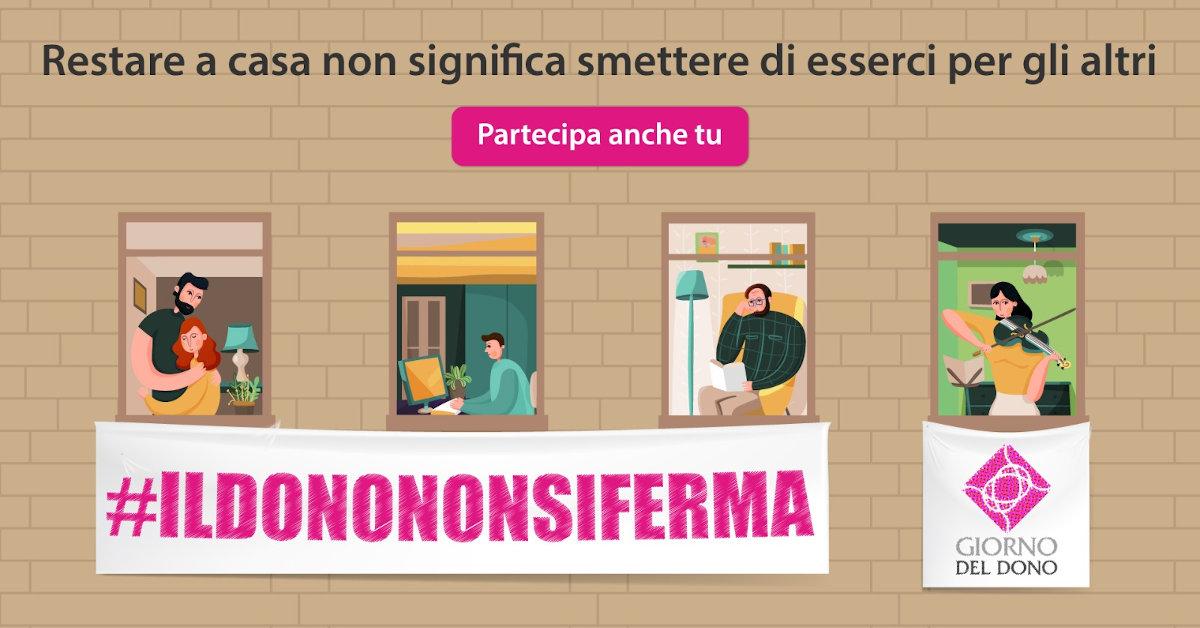 Banner #ILDONONONSIFERMA