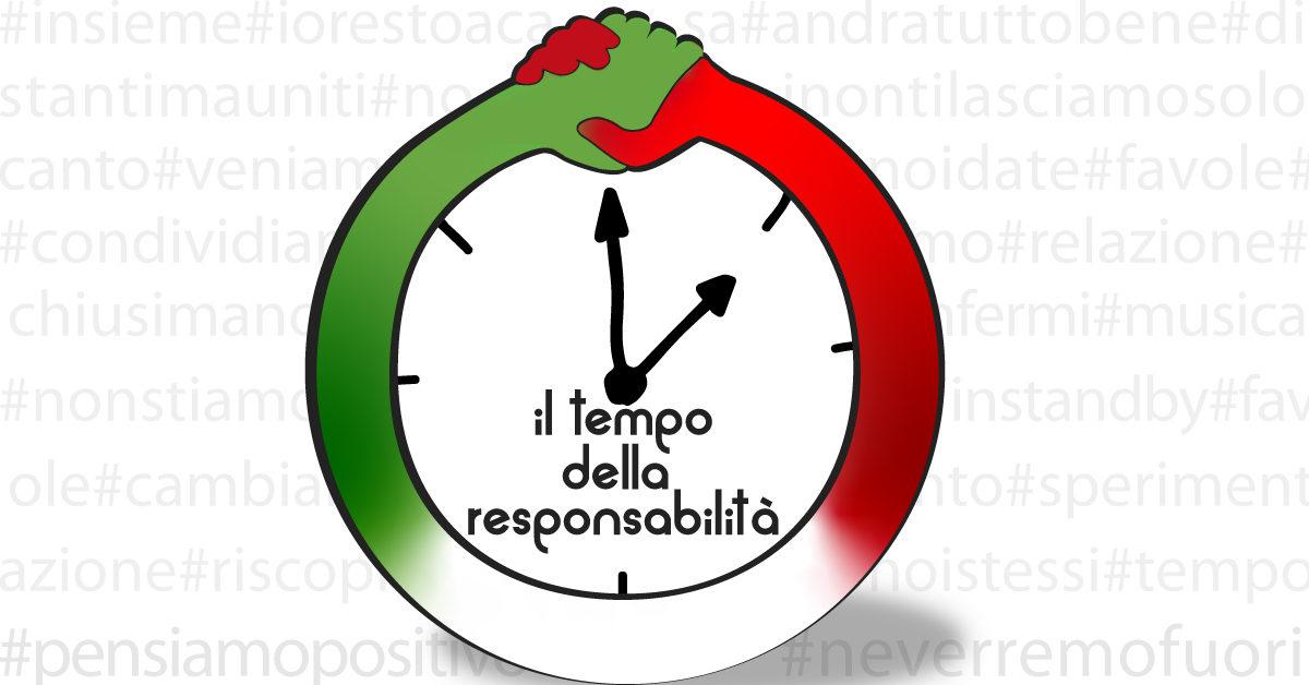 Banner Il tempo della responsabilità - CSVSN - Azioni per la coesione sociale e la comunità