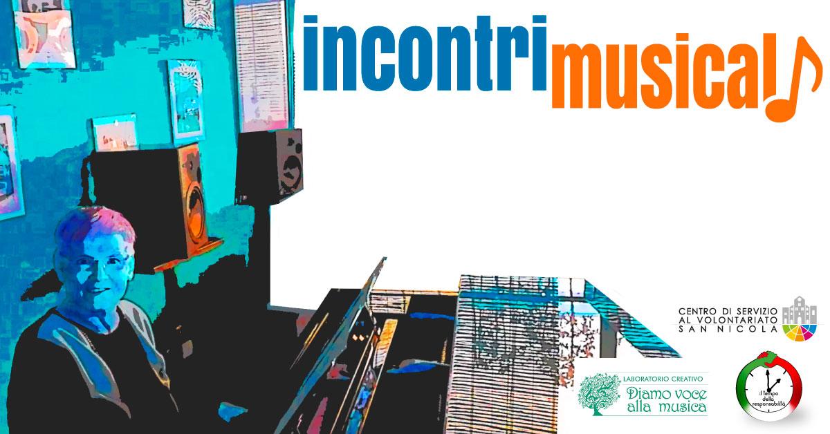 Banner Incontri Musicali 2020 - CSVSN - Azioni per la coesione sociale e la comunità