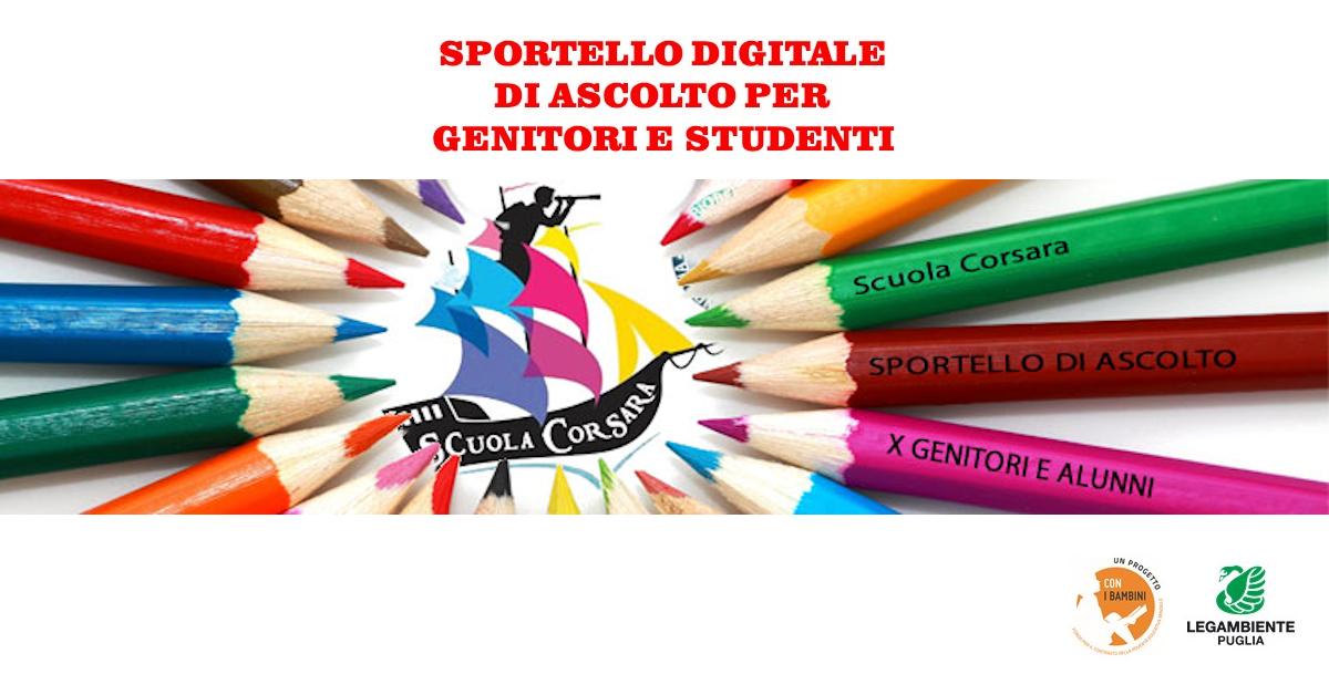 Banner Scuola Corsara Legambiente Puglia Con i Bambini
