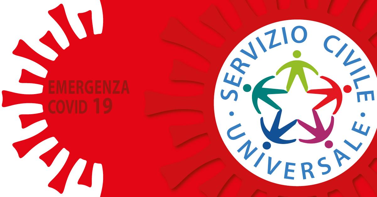 Banner Servizio Civile Universale - emergenza Coronavirus