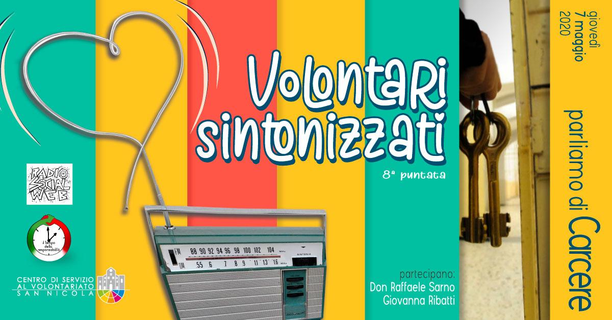 Banner Dialoghi su Carcere Volontari Sintonizzati CSVSN Radio Social Web
