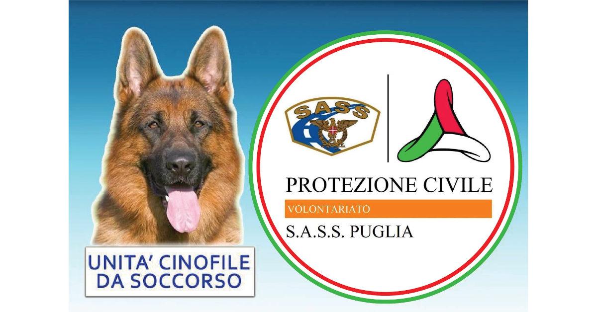 Banner S.A.S.S. Puglia Protezione Civile OdV