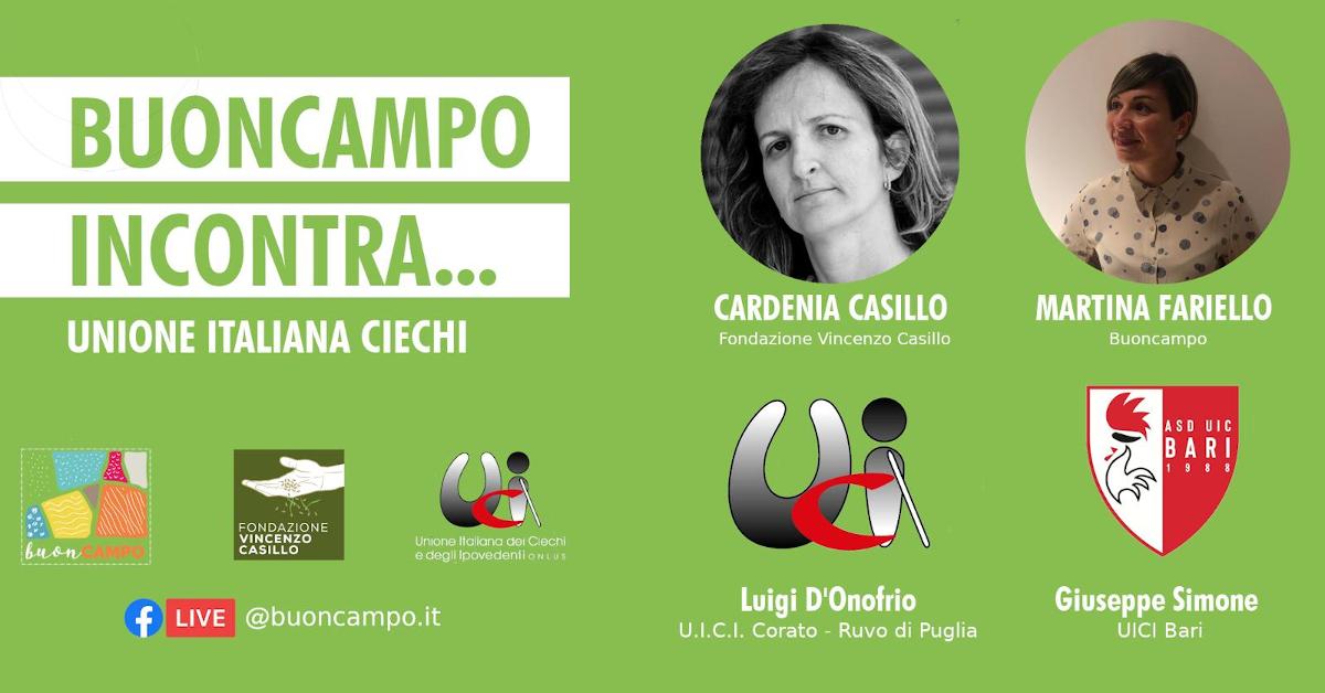 Banner BuonCampo Incontra UICI 19 Giugno