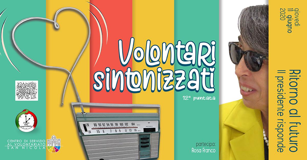 Banner Ritorno al Futuro - Volontari sintonizzati - Radio Social Web - CSV San Nicola