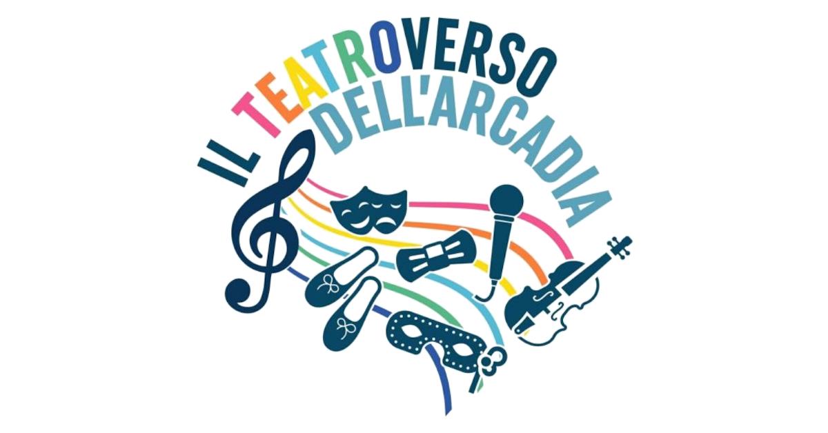 Logo TeatroVerso dell'Arcadìa - Centro Arcobaleno #giovanidee