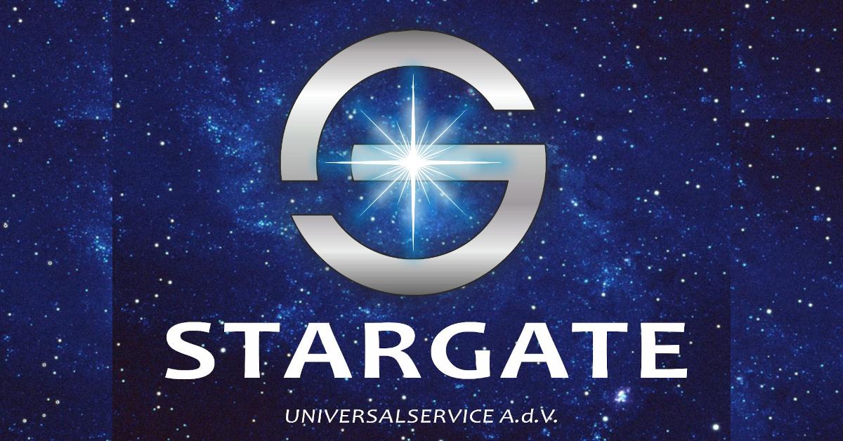 Banner logo Stargate Universal Service OdV