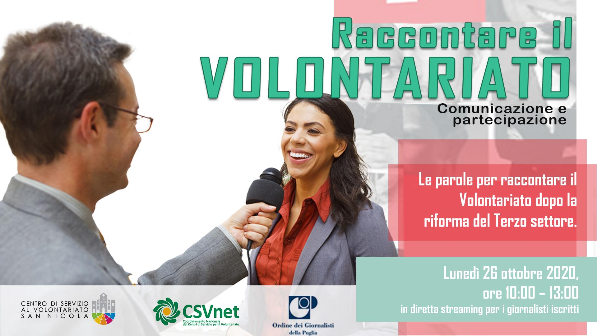 Copertina Le parole per raccontare il Volontariato dopo la riforma del Terzo settore