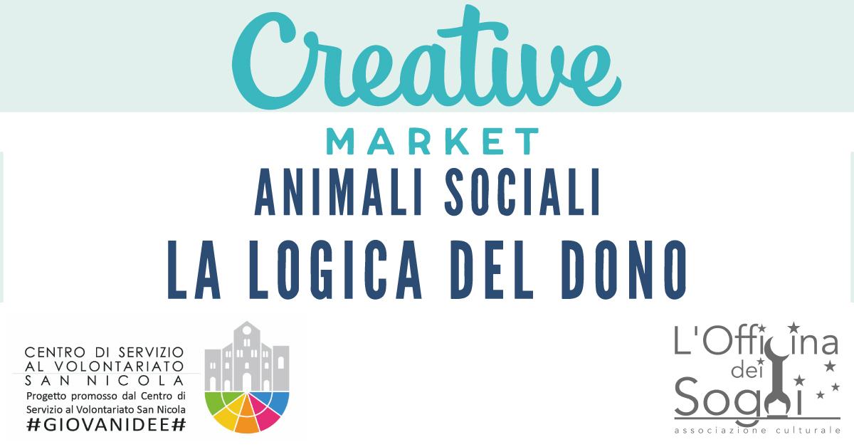 Banner-Animali-sociali-la-logica-del-dono-Officina-dei-Sogni-CSV-San-Nicola-GIOVANIDEE