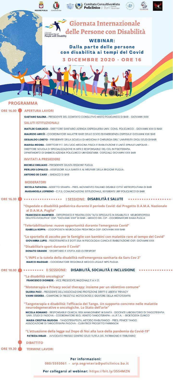 locandina Dalla-parte-delle-persone-con-disabilità-ai-tempi-del-Covid-dicembre-2020