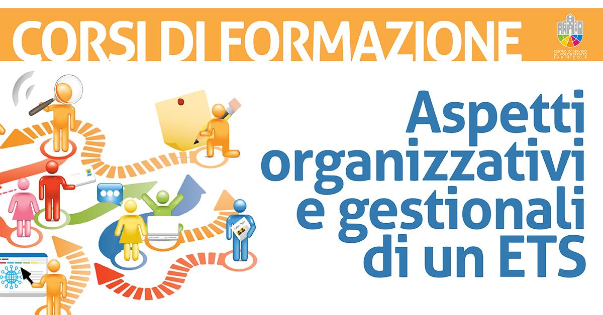 Aspetti organizzativi e gestionali di un ETS - Offerta formativa CSVSN