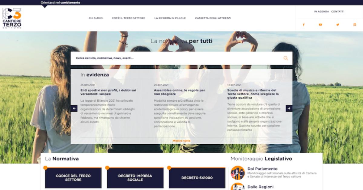 Banner-sito-web-Cantiere-terzo-settore-CSVnet-Forum-Nazionale-dl-Terzo-Settore