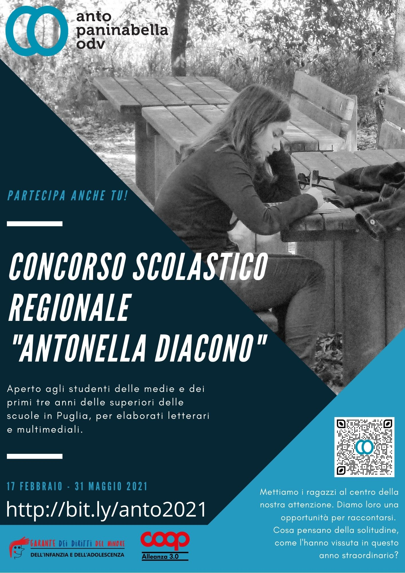 Locandina-Concorso-scolastico-regionale-Antonella-Diacono-2021-Anto-Paninabella-ODV