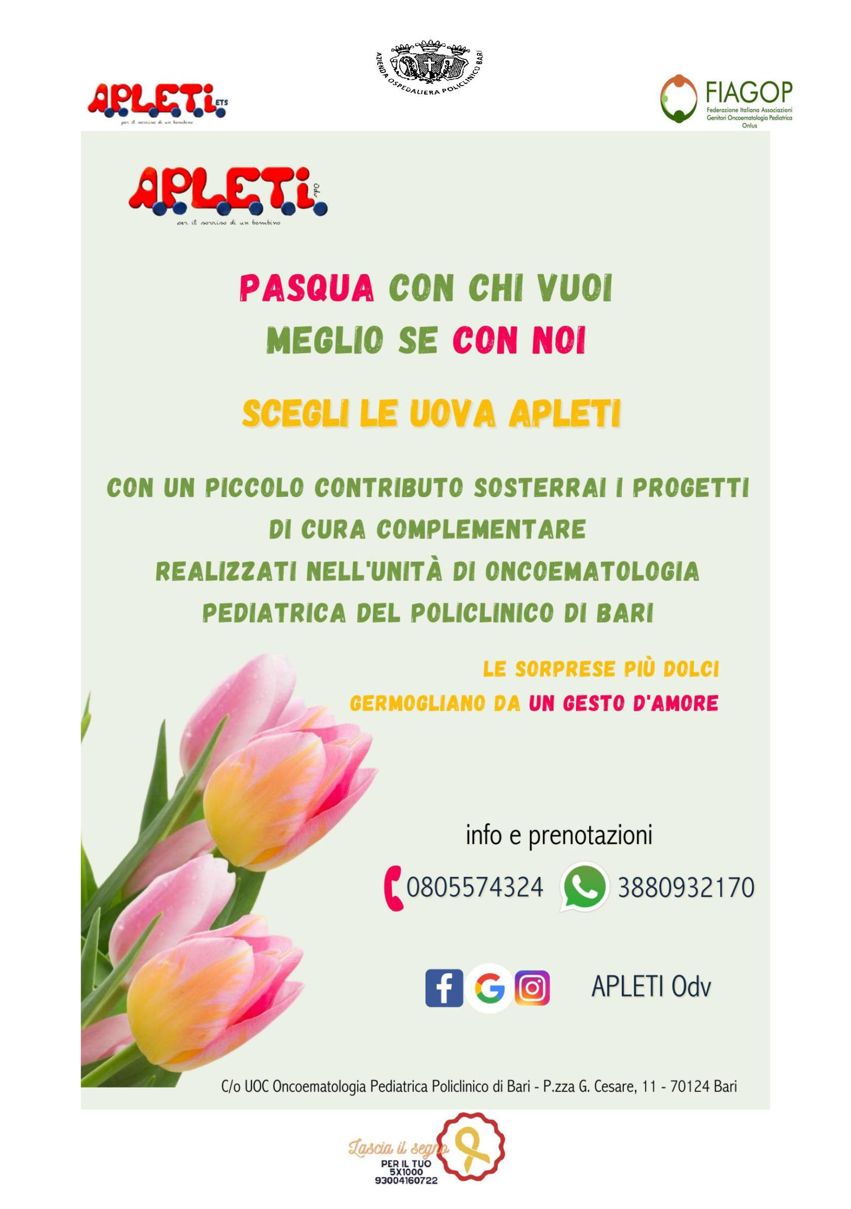 Locandina Lettera Uova di Pasqua APLETI per la cura degli ospiti dell'Oncoematologia Pediatrica_Pagina_3
