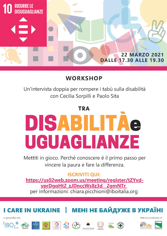 LocandinA DisAbilità e uguaglianze