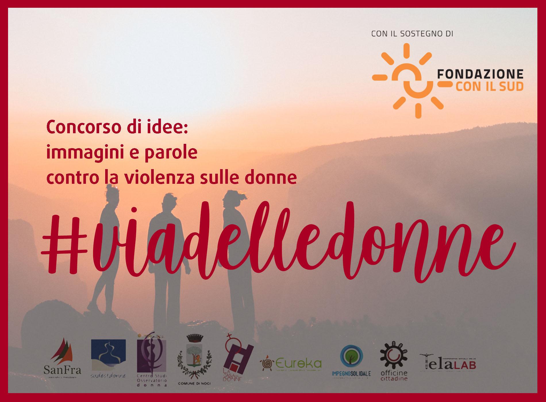 Banner-#viadelledonne-concorso-di-idee-per-contrastare-stereotipi-e-violenza-di-genere