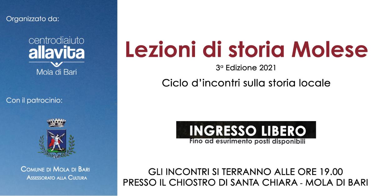 Banner-Lezioni-di-Storia-Molese-Centro-di-Aiuto-alla-Vita-Mola-di-Bari-2021