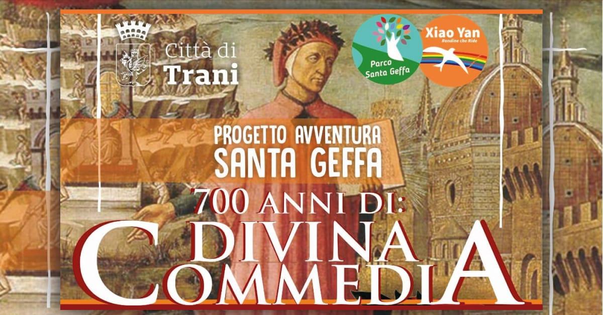 Banner Progetto Avventura Santa Geffa 700 anni di Divina Commedia 2021
