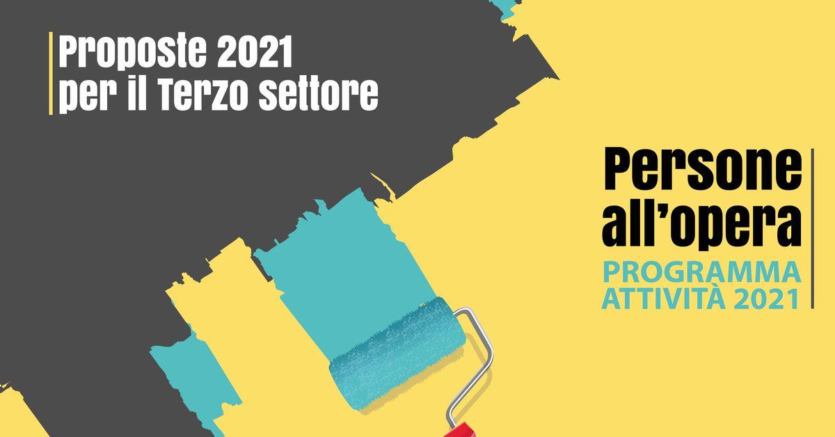 Banner Proposte 2021 per il Terzo settore CSV San Nicola