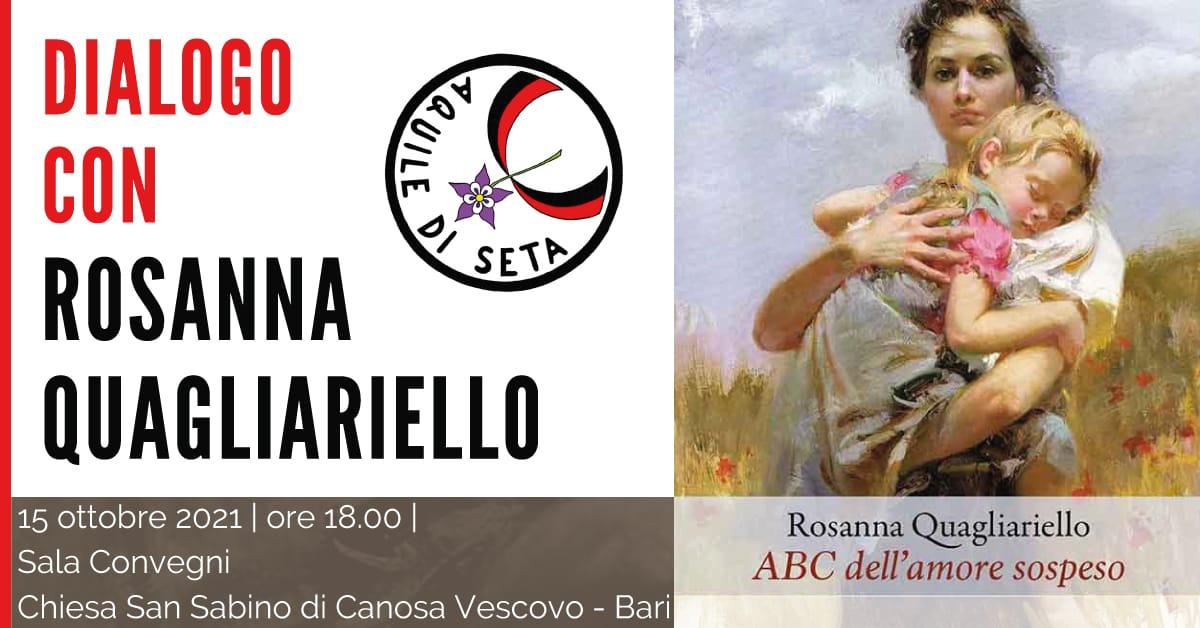 Banner ABC amore sospeso Dialogo con Rosanna Quagliariello Le Aquile di Seta APS